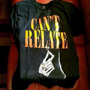 JSC NWT Exclusive Halloween can't relate shirt